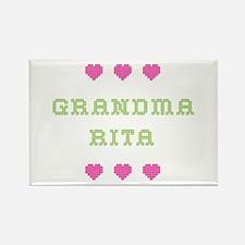 Grandma Rita Rectangle Magnet