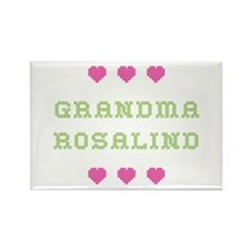 Grandma Rosalind Rectangle Magnet