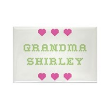 Grandma Shirley Rectangle Magnet