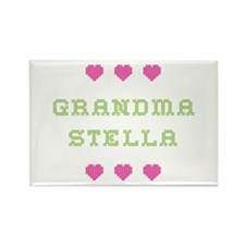 Grandma Stella Rectangle Magnet