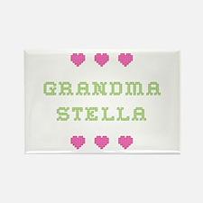 Grandma Stella Rectangle Magnet