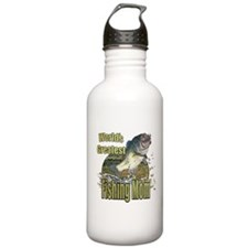 Fishing Mom Water Bottle