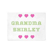 Grandma Shirley 5'x7' Area Rug