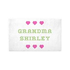Grandma Shirley 3 'x 5' Area Rug