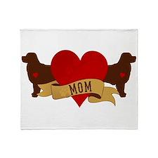 Bernese [Berner] Mom Throw Blanket