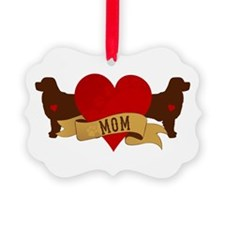 Bernese [Berner] Mom Ornament