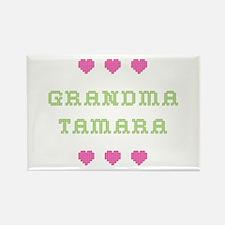 Grandma Tamara Rectangle Magnet