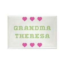 Grandma Theresa Rectangle Magnet