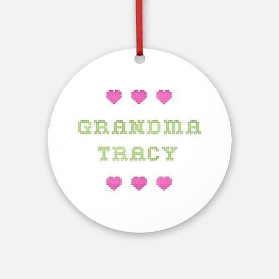 Grandma Tracy Round Ornament
