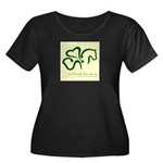 Women's logo2 Plus Size T-Shirt; black,navy,gree