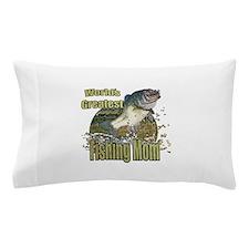 Fishing Mom Pillow Case