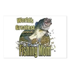 Fishing Mom Postcards (Package of 8)