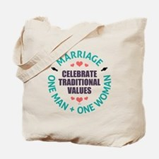 Celebrate Traditional Values Tote Bag