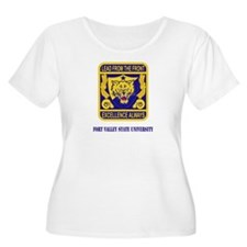 Fort Valley State University with Text T-Shirt