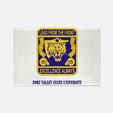 Fort Valley State University with Text Rectangle M