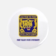 """Fort Valley State University with Text 3.5"""" Button"""