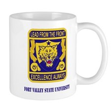 Fort Valley State University with Text Mug