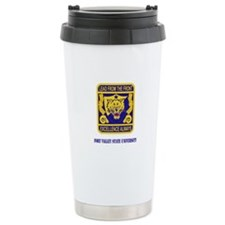 Fort Valley State University with Text Travel Mug
