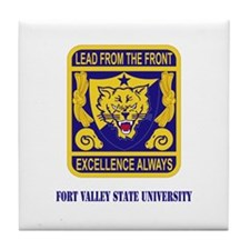 Fort Valley State University with Text Tile Coaste