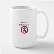 People, Not Puzzles Mug