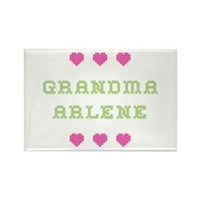 Grandma Arlene Rectangle Magnet