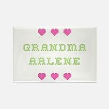 Grandma Arlene Rectangle Magnet