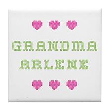 Grandma Arlene Tile Coaster