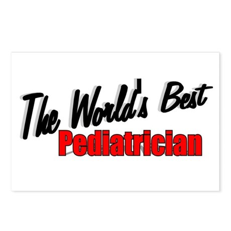 """The World's Best Pediatrician"" Postcards (Package"