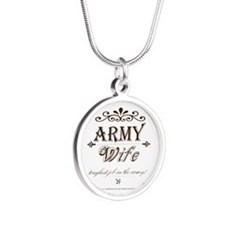 Army Wife: Toughest Job in the Army Necklaces
