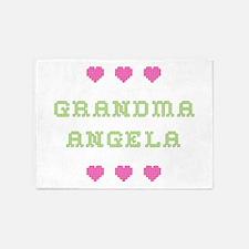 Grandma Angela 5'x7' Area Rug