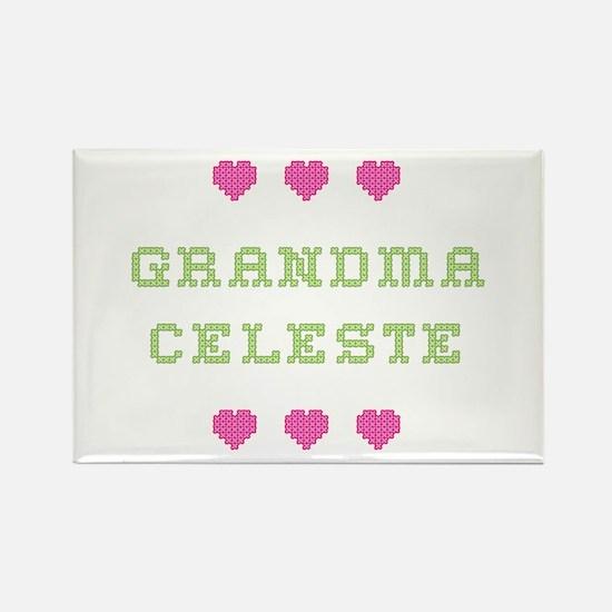 Grandma Celeste Rectangle Magnet