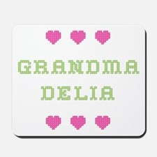 Grandma Delia Mousepad