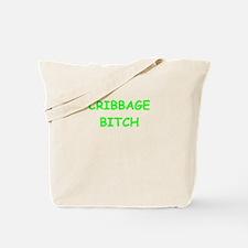 cribbage Tote Bag