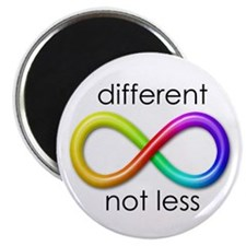 Different. Not Less. Magnet