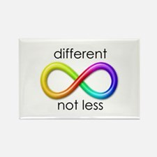 Different. Not Less. Rectangle Magnet (10 pack)