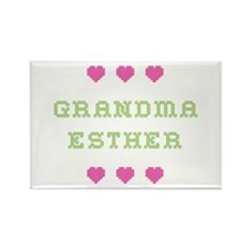 Grandma Esther Rectangle Magnet