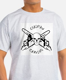 Chainsaws Ash Grey T-Shirt
