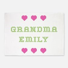 Grandma Emily 5'x7' Area Rug
