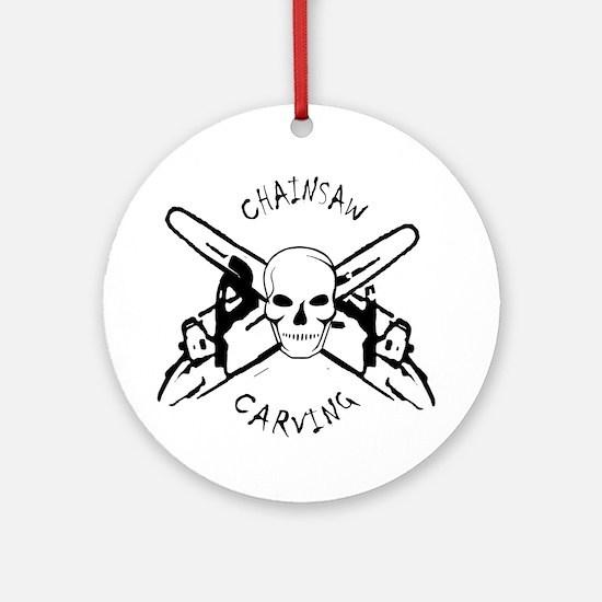 Chainsaws Ornament (Round)