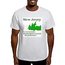 NJ Pride Ash Grey T-Shirt