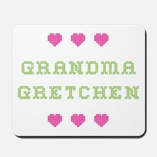 Grandma Gretchen Mousepad