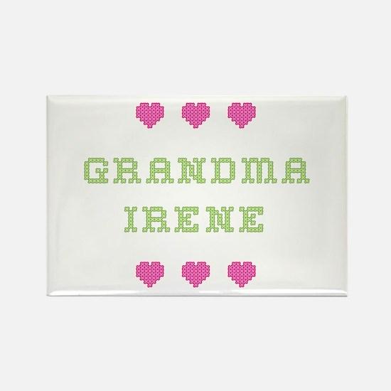 Grandma Irene Rectangle Magnet