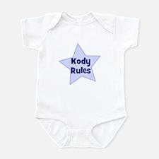 Kody Rules Infant Bodysuit