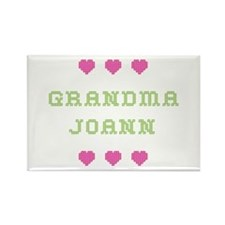 Grandma Joann Rectangle Magnet