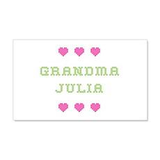 Grandma Julia 20x12 Wall Peel