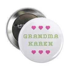 Grandma Karen Button