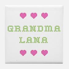 Grandma Lana Tile Coaster