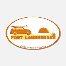 Fort Lauderdale - Beach Design. Wall Decal