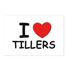 I Love tillers Postcards (Package of 8)
