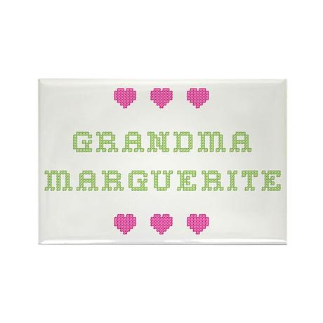 Grandma Marguerite Rectangle Magnet